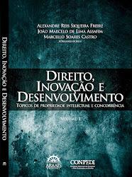 Prof. Miranda participa com um capítulo no novo livro: Direito, inovação e desenvolvimento
