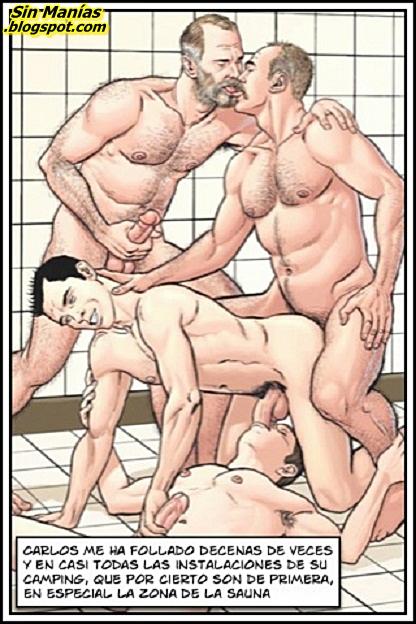 гей порно фото комиксы
