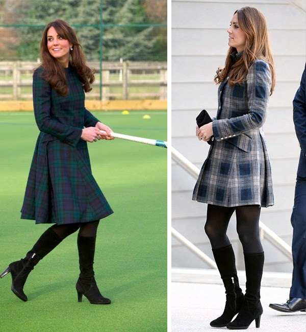 Tartan style 2013 on Design and fashion recipes by Cristina Dal Monte (Kate Middleton)