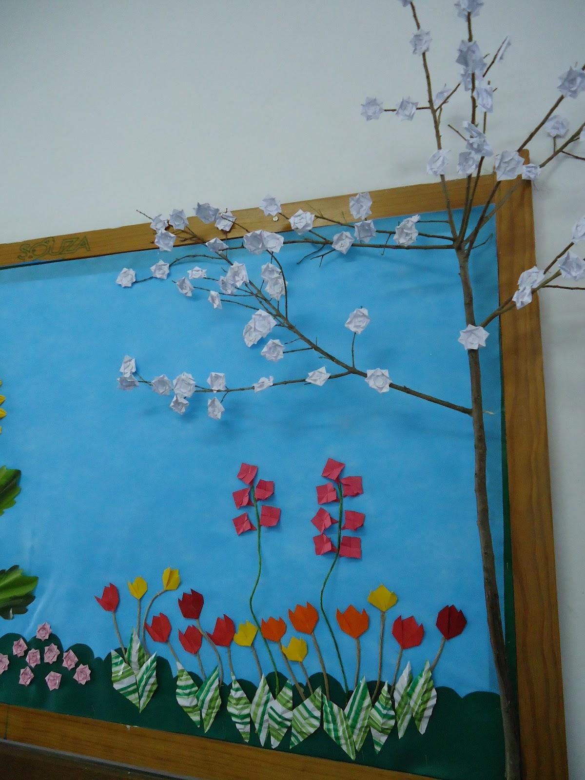 Escola Municipal Professor Gonçalves Dia Da árvore E Primavera