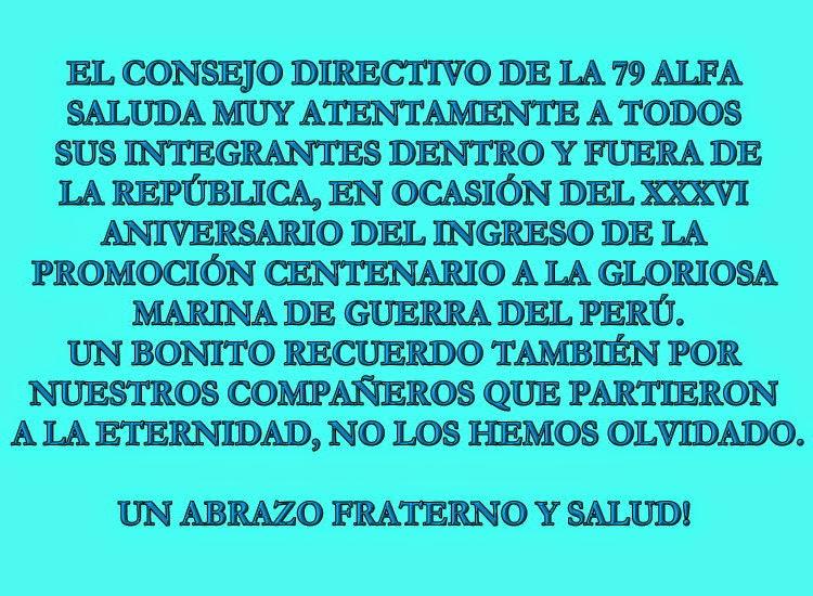 SALUDOS CABALLEROS CENTENARIOS POR EL XXVI ANIVERSARIO!