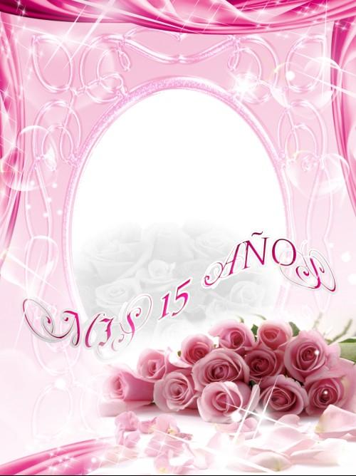 Plantillas para invitaciónes de xv años - Imagui