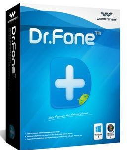 wondershare dr. fone for android data recovery