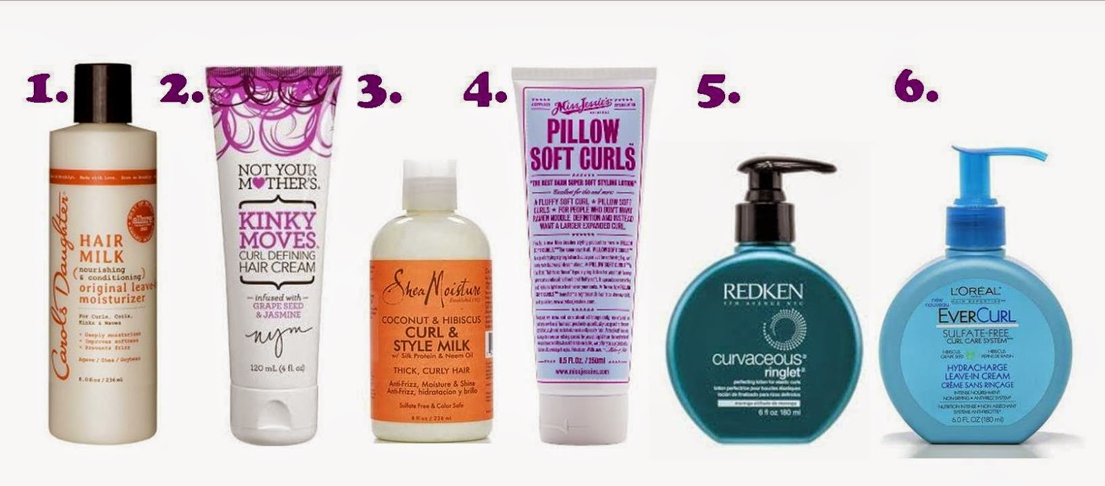 Poofygypsy Best Styling Products For Naturally Curly Hair