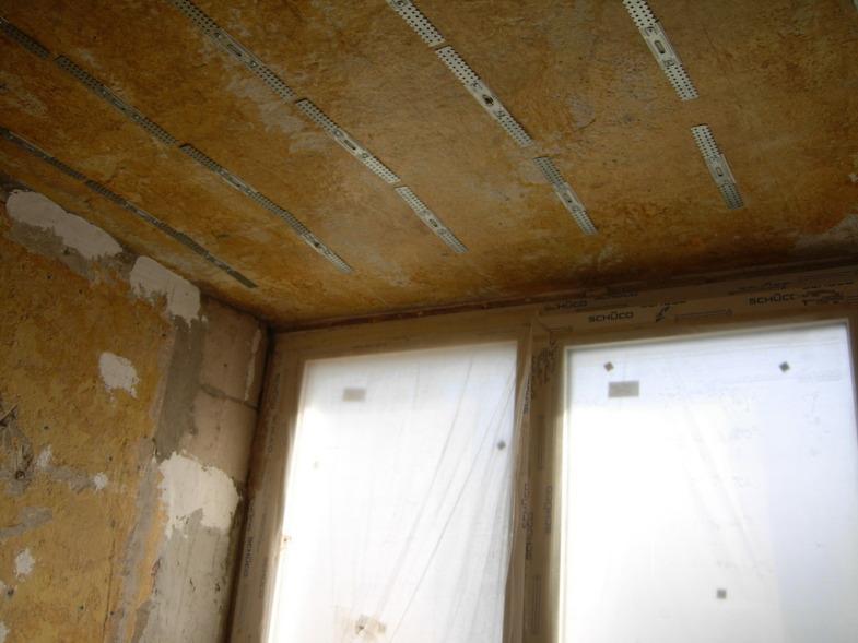 Как сделать, утеплить и отделать потолок на лоджии или балко.