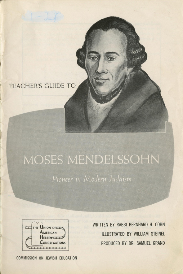 moses mendelssohn sage of modernity Moses mendelssohn (6 september 1729 – 4 january 1786) was a german  jewish philosopher to whose ideas the haskalah, the 'jewish enlightenment' of  the.