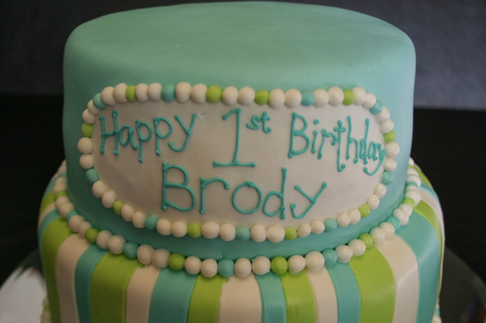 All Tiered Up Brody S Birthday Cake