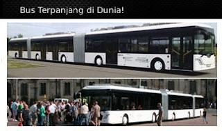 bis terpanjang di dunia