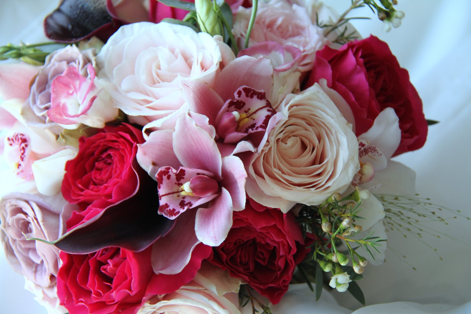 The Flower Magician: Beautiful Late Summer Wedding Bouquet
