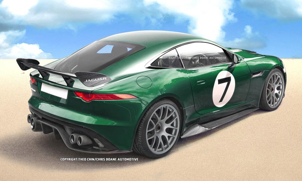 Rendering Jaguar F Type Gt3