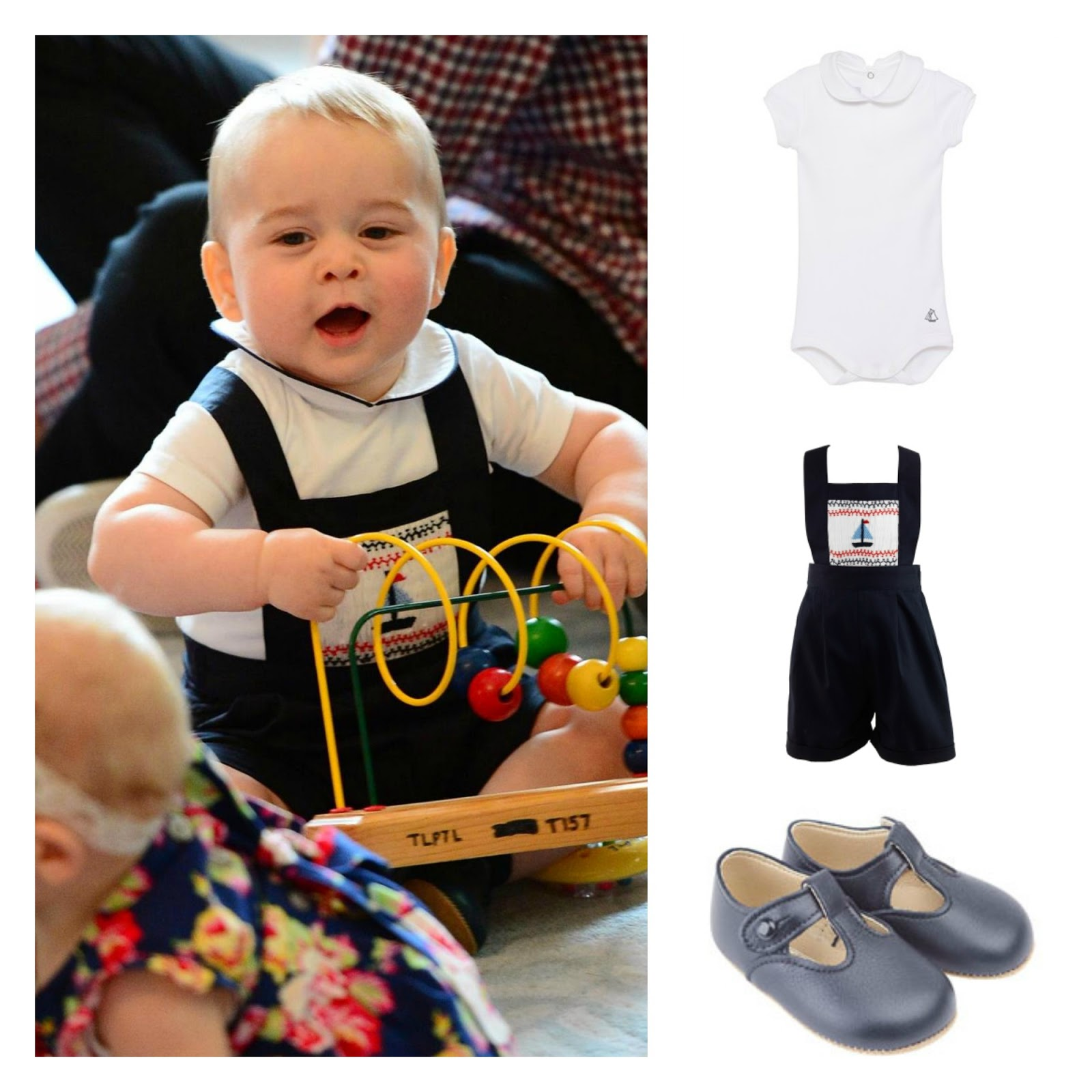 Baby boys clothes celebrity get the look baby prince george