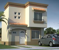 Casas en venta y departamentos octubre 2012 for Fachadas de casas modernas de interes social