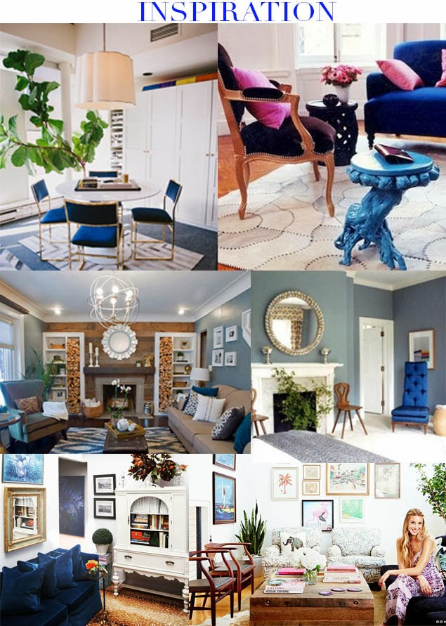 A Hammer & Heels -First House Project: Living Room Inspiration