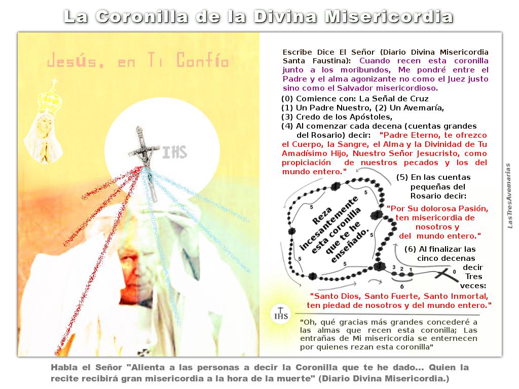 coronilla a jesus misericordioso