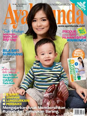 Feature in Ayah Bunda Magz
