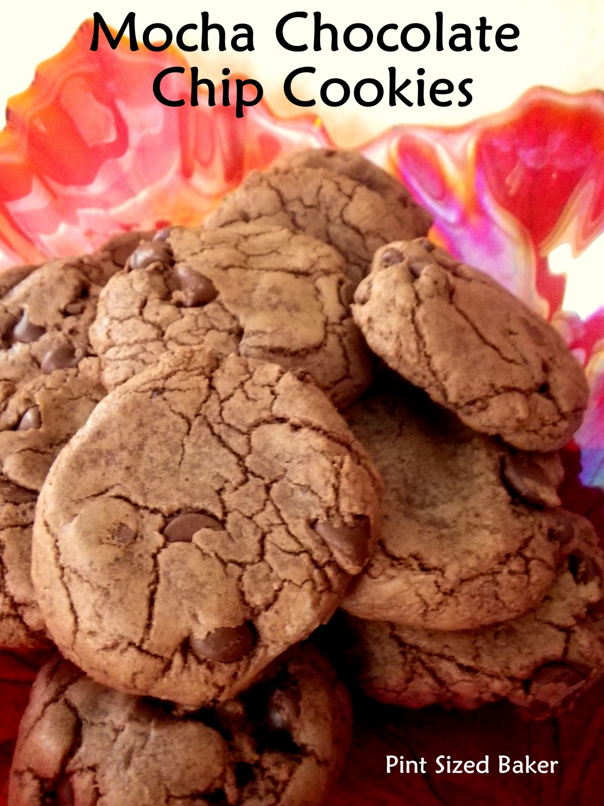 Mocha chocolate chip cookies pint sized baker for Better homes and gardens chocolate chip cookies