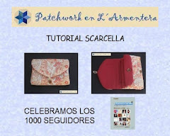 Patchwork en l'Armentera - Tuto Scarcella