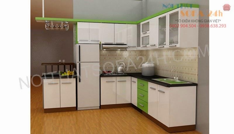 Tủ bếp TB029