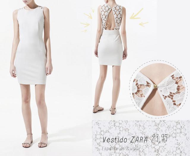 vestido blanco Zara outfit graduación hermanas bolena