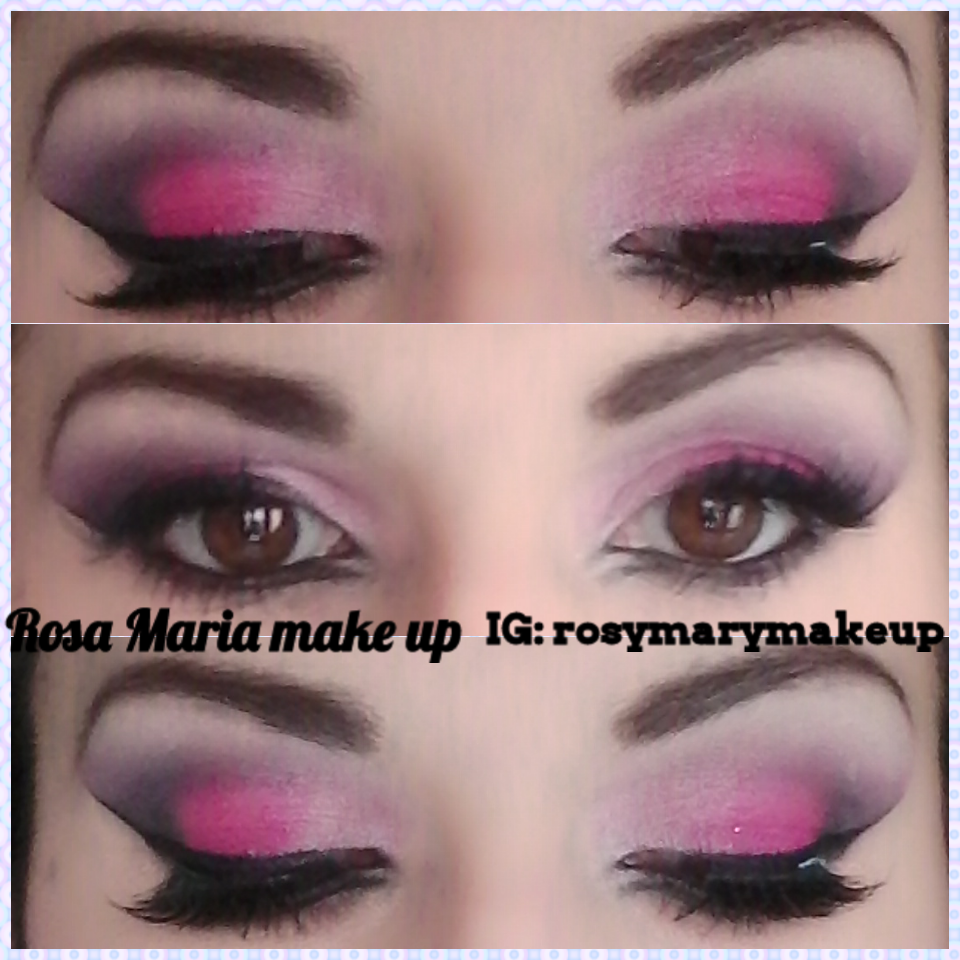 Tutorial make up fuxia