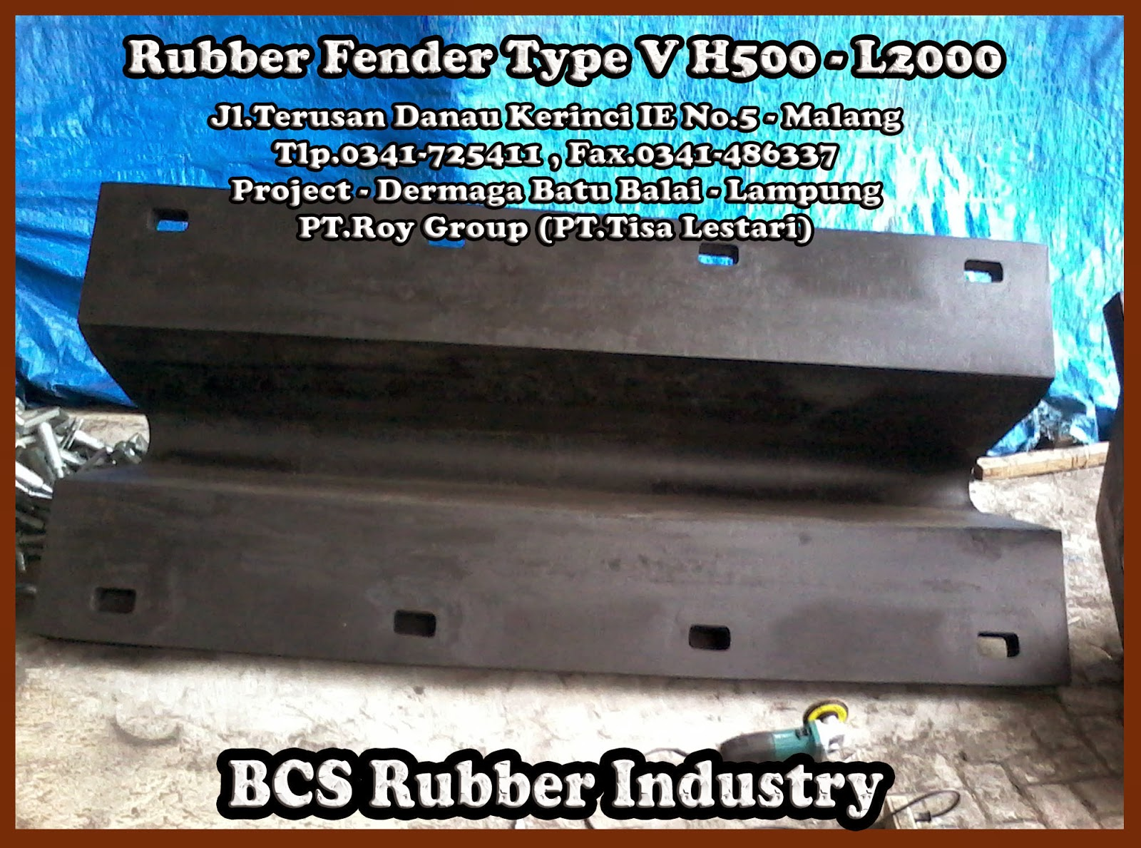 RUBBER FENDER V - RUBBER FENDER ARCH - BCS RUBBER INDUSTRY