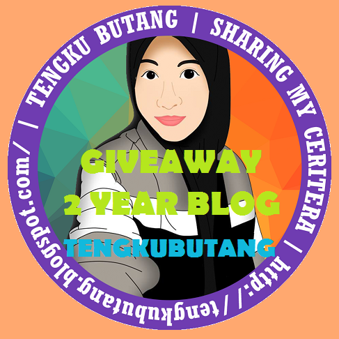 """GIVEAWAY 2 YEAR BLOG TENGKUBUTANG"""