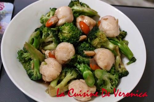 La Cuisine De Veronica 西蘭花炒帶子