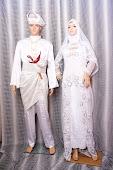 Baju Pengantin Putih Sedondon