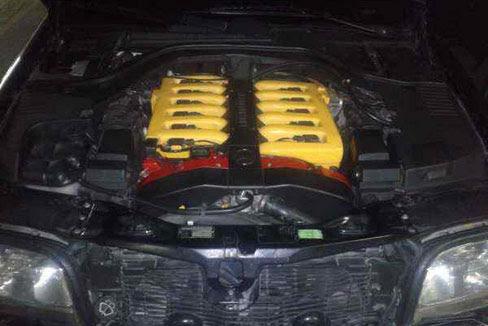 1996 mercedes benz s 600 l v12 mobil bekas rental mobil for Mercedes benz v 12 engine