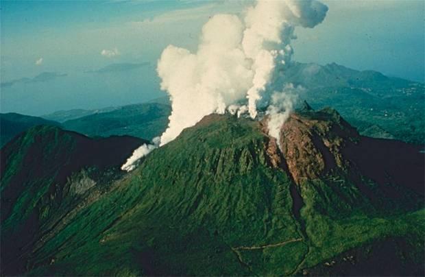 Вулкан ла-суфриер  venividiru