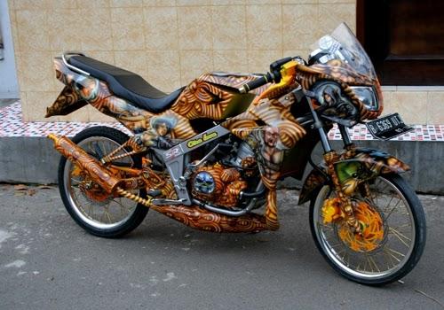Itulah beberapa Gambar Modifikasi Motor Kawasaki Ninja L yang mungkin  title=