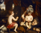 Infant Academy by Joshua Reynolds, image copyrighted by English Heritage Prints