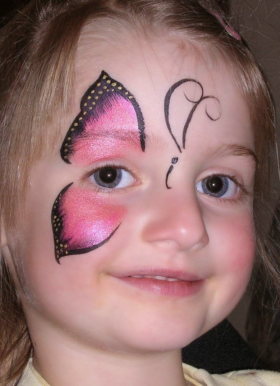 body painting tattoo face painting ideas for kids On birthday face painting