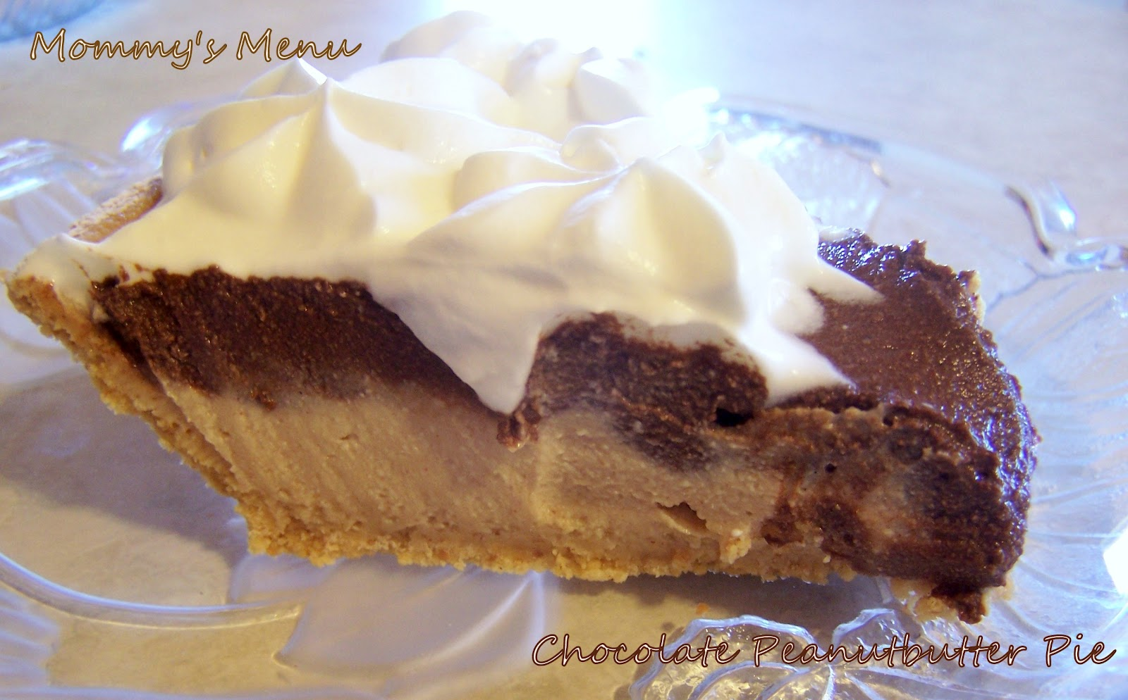 Mommy's Menu: SRC: Chocolate Peanut Butter Pie