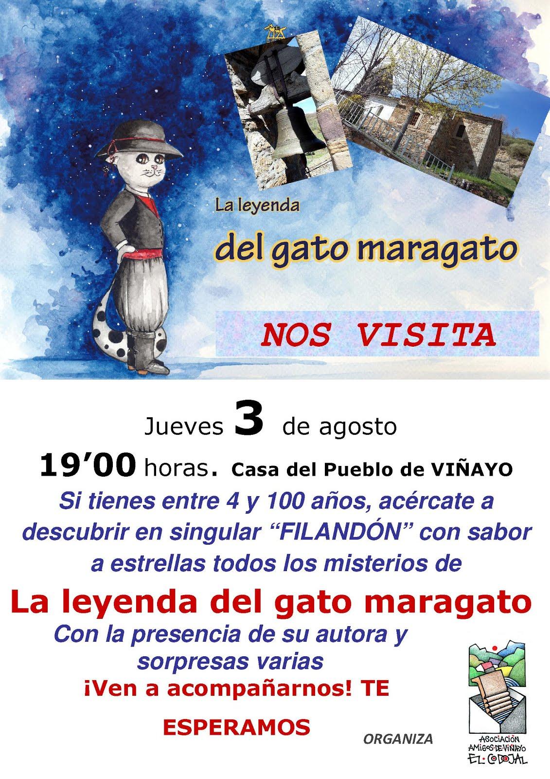 El gato maragato visitará Viñayo