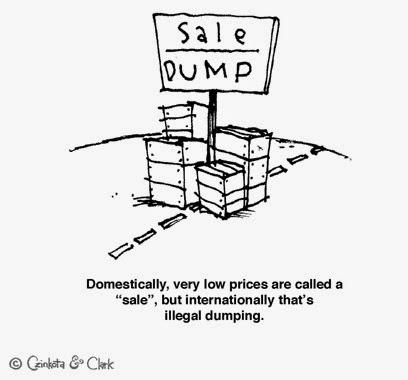 Kebijakan Anti Dumping WTO dan contoh kasusnya