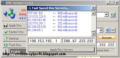 Trick Mempercepat Modem Smartfren dengan DNS Jumper v1.0.4