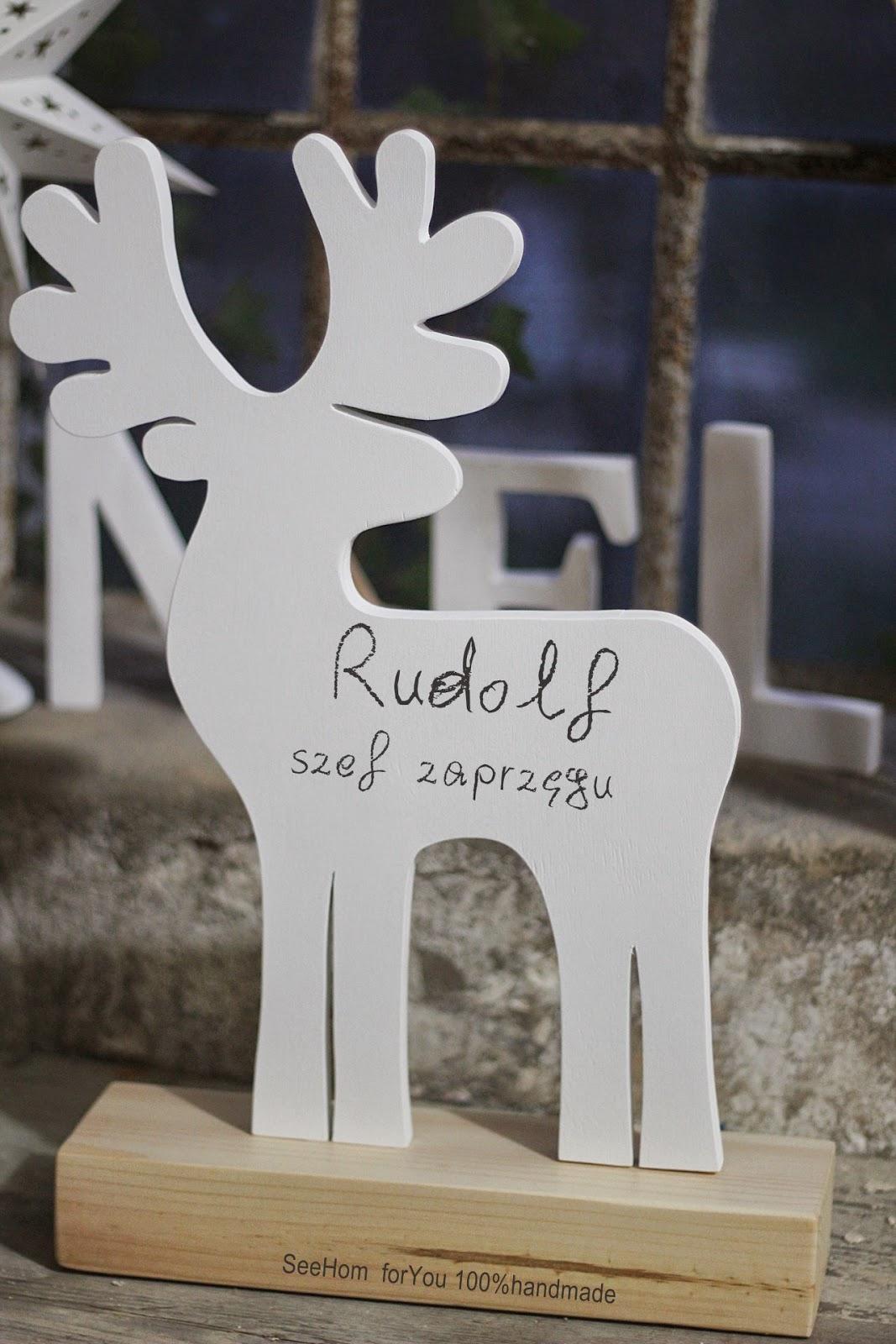 Choinka,Prezenty,Rudolf,Zaprzęg Świętego Mikołaja