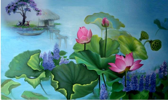 Hãy chiêm ngưỡng vẻ đẹp của hoa sen – loài hoa mang vẻ đẹp của hương sắc tươi thắm và sức sống mãnh liệt, trầm mình trong bùn những vẫn ngát hương