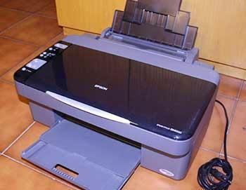 epson stylus sx210 ink