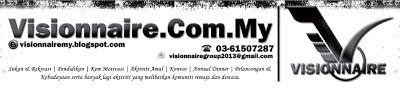 lynn munir masuk segmen, lynn munir join pertandingan tagline vissionnaire, tagline vissionnaire, vissionnaire blog, vissionnaire di face book, jom join segmen ini
