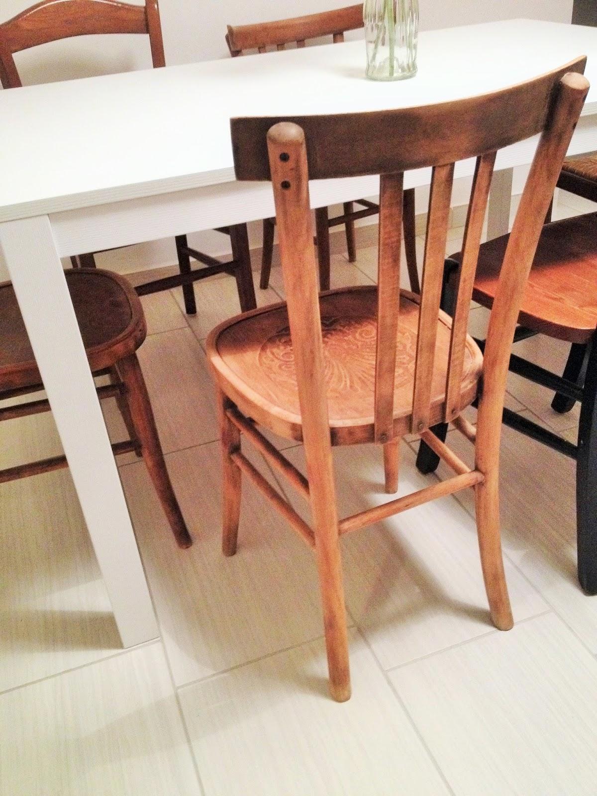 Storia di una sedia e del suo makeover – Story of a restyled chair