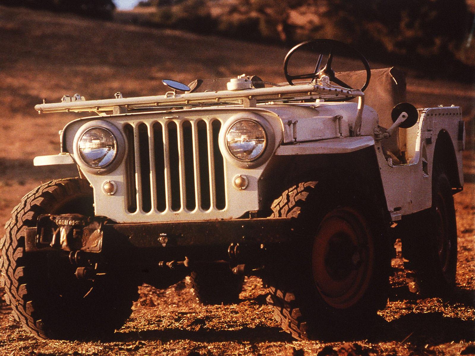 1945 Jeep Cj 2a Car Desktop Wallpaper