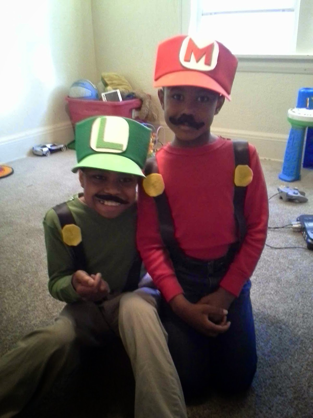 Something to be found october reader thrift challenge reveal diy luigi mario costumes what solutioingenieria Choice Image