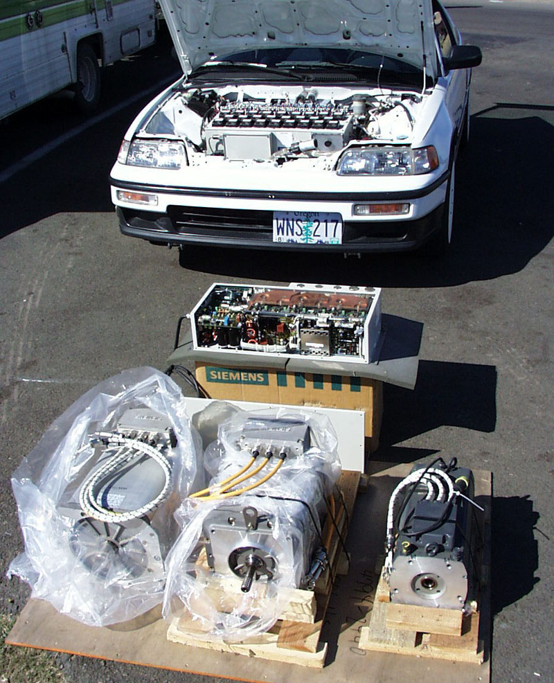 Ac Motor Kit Picture