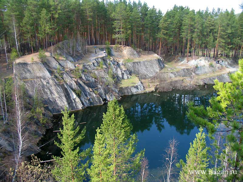 Тальков камень. Свердловская область.