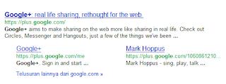 google+ mengudara