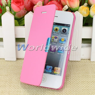 Hot Sale Magnetic Holster Flip Leather Hard Case Cover Protect For iPhone 4G 4S