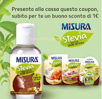 Logo Misura Stevia per buono sconto da 1 euro