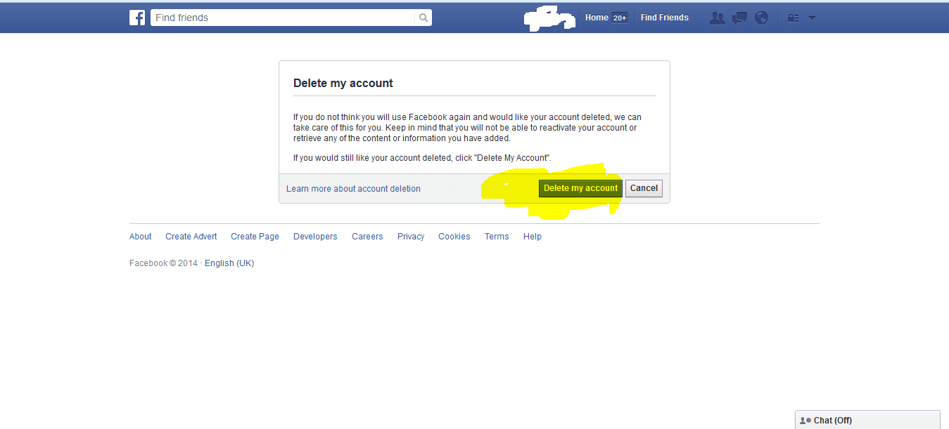 Now Your Facebook Account Is Deactivate How